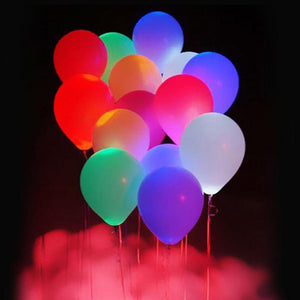 15Pcs 12 Inches LED Balloons