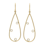 Polki Teardrop Earrings