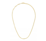 14k Yellow Gold 2.5mm Paperclip Chain