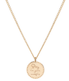 "14K MANTRA ""STAY IN YOUR MAGIC"" NECKLACE"