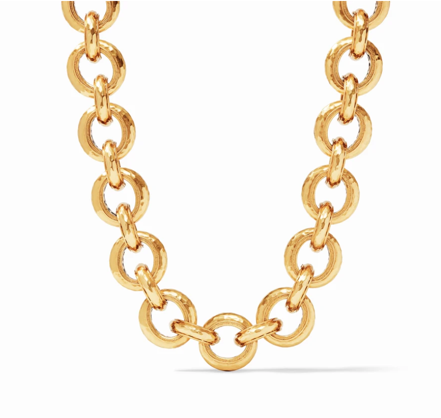 Cassis Link Necklace Gold