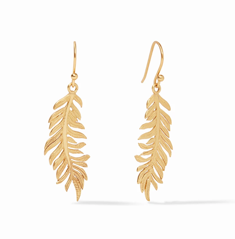 Fern Earring Gold