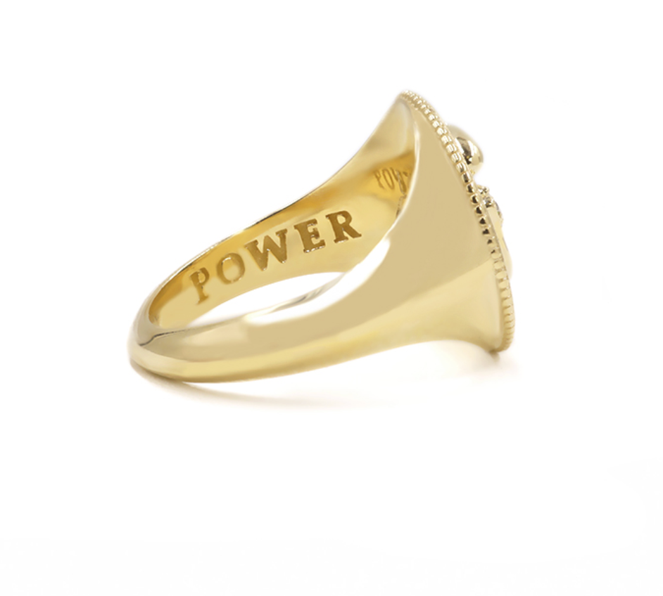 Power Lion Signet Ring