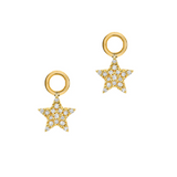 Pave Star Earring Charms