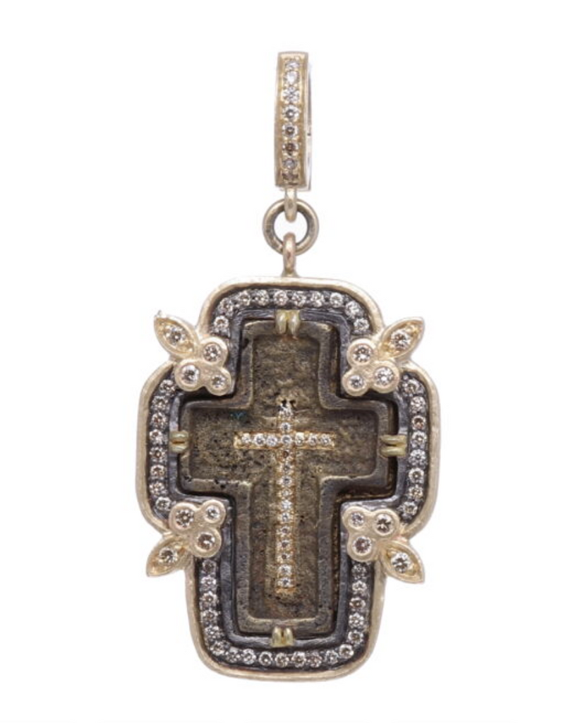 Small Old Believers Cross Pendant