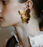 Papillon Earring- Clip Earrings