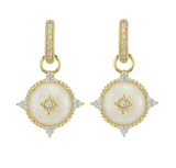 Provence Moonstone Diamond Point Earring Charms
