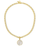 Core Knockout Collar Moonstone Gold