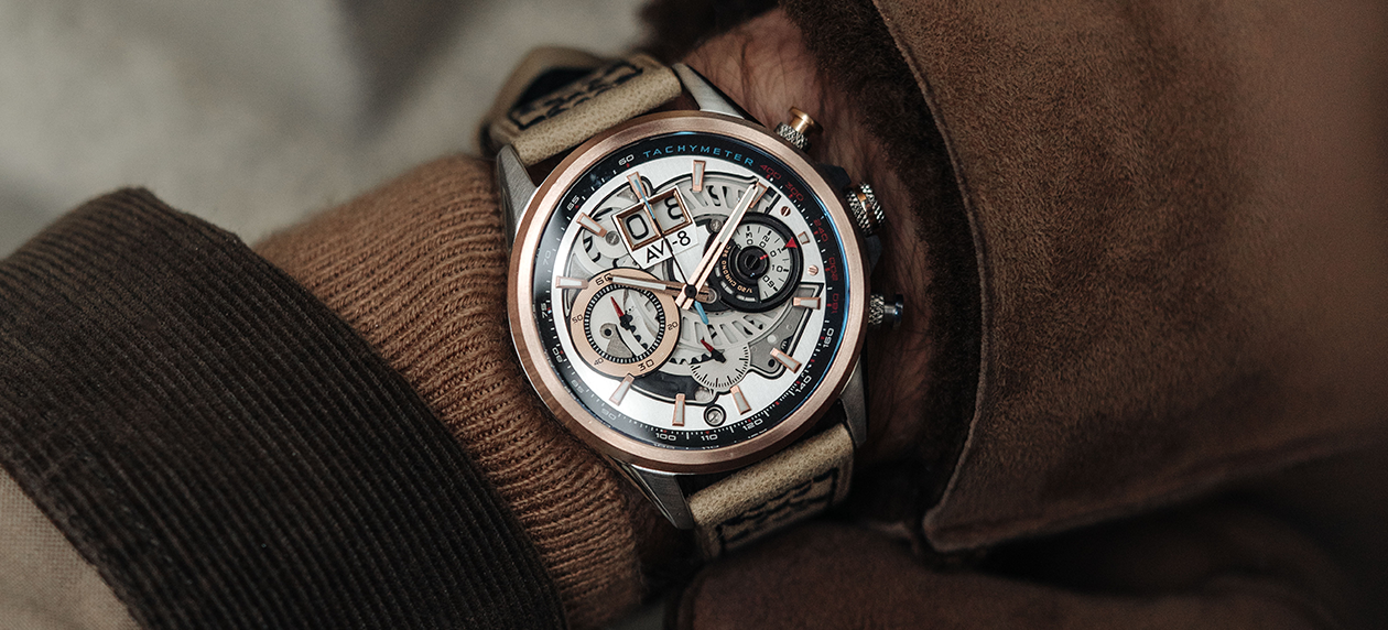 styling a chronograph watch