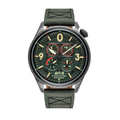 army green automatic watch