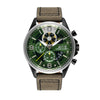 green automatic watch