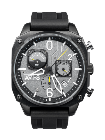 TACTICAL BLACK RETROGRADE CHRONOGRAPH 1