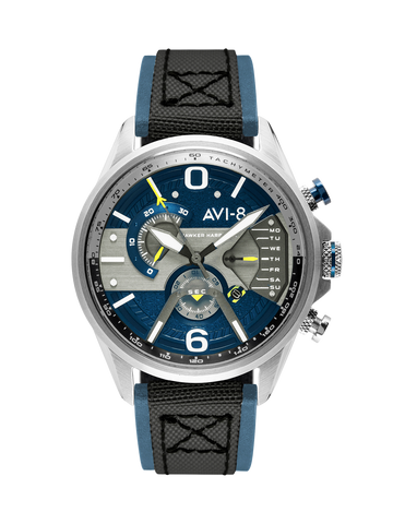 Admiral Blue Steel DUAL RETROGRADE CHRONOGRAPH 1