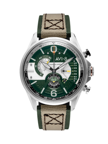 Sand Military Green DUAL RETROGRADE CHRONOGRAPH 1