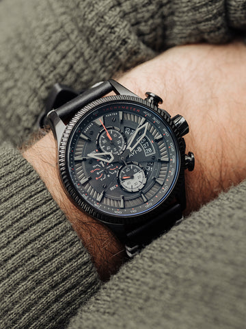 STEALTH BLACK AVON CHRONOGRAPH 1