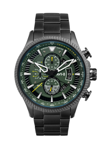 GRAPHITE GREEN AVON CHRONOGRAPH 1