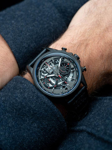 STEALTH BLACK MATADOR CHRONOGRAPH 1