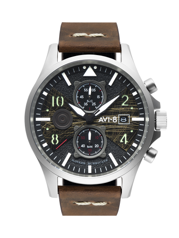 SLATE STEEL BROWN BULMAN CHRONOGRAPH 1