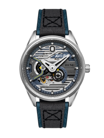 ADMIRAL BLUE STEEL XV741 BLUE NYLON AUTOMATIC 1
