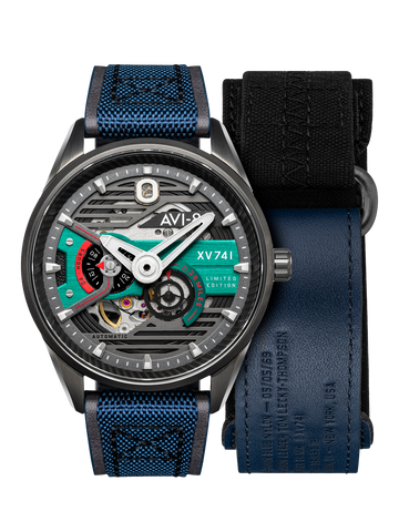 BLUE NYLON LIMITED EDITION XV741 AUTOMATIC 1