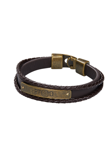 RFD PLATE BROWN BRACELET 1