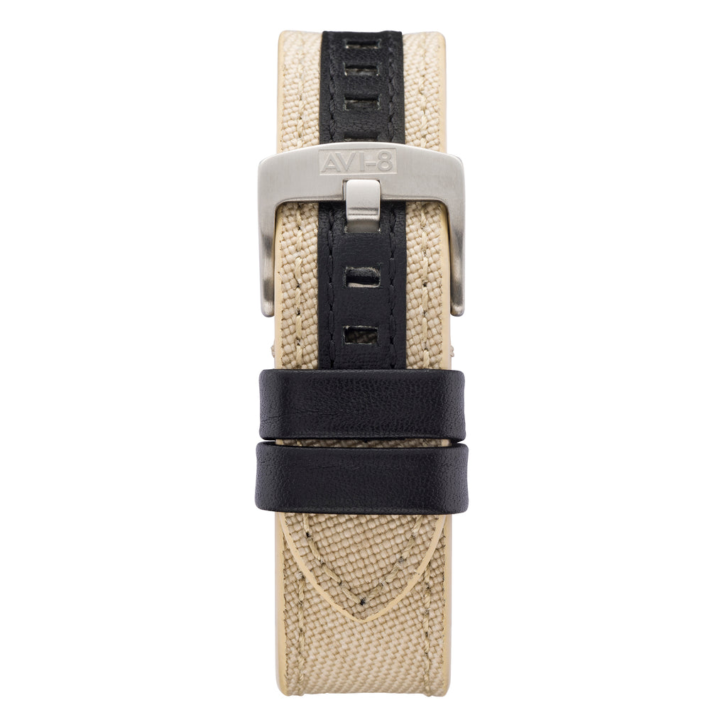 beige watch strap