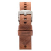 tan italian watch strap