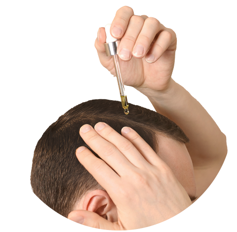 usage of world's potent hair fall solution