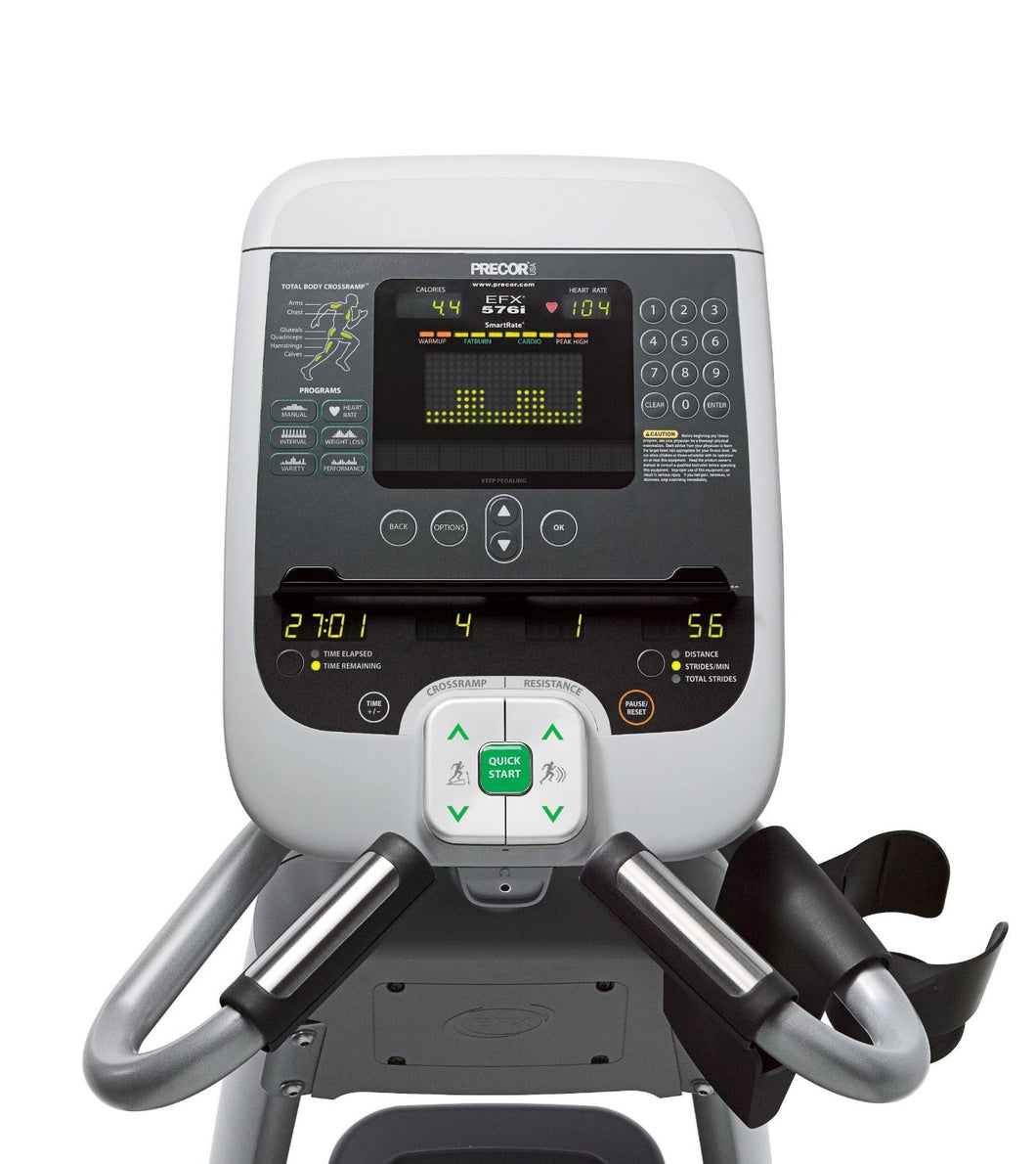 Precor EFX 576i Experience Series Cross Trainer (Remanufactured)