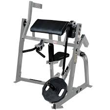 Hammer Strength Seated Bicep Curl