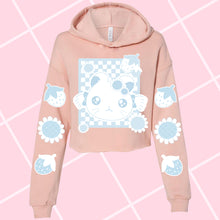 Load image into Gallery viewer, Bijou Crop Top Hoodie