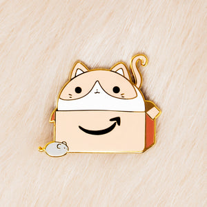Box Cat Pin