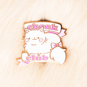 Chonk Club Pin