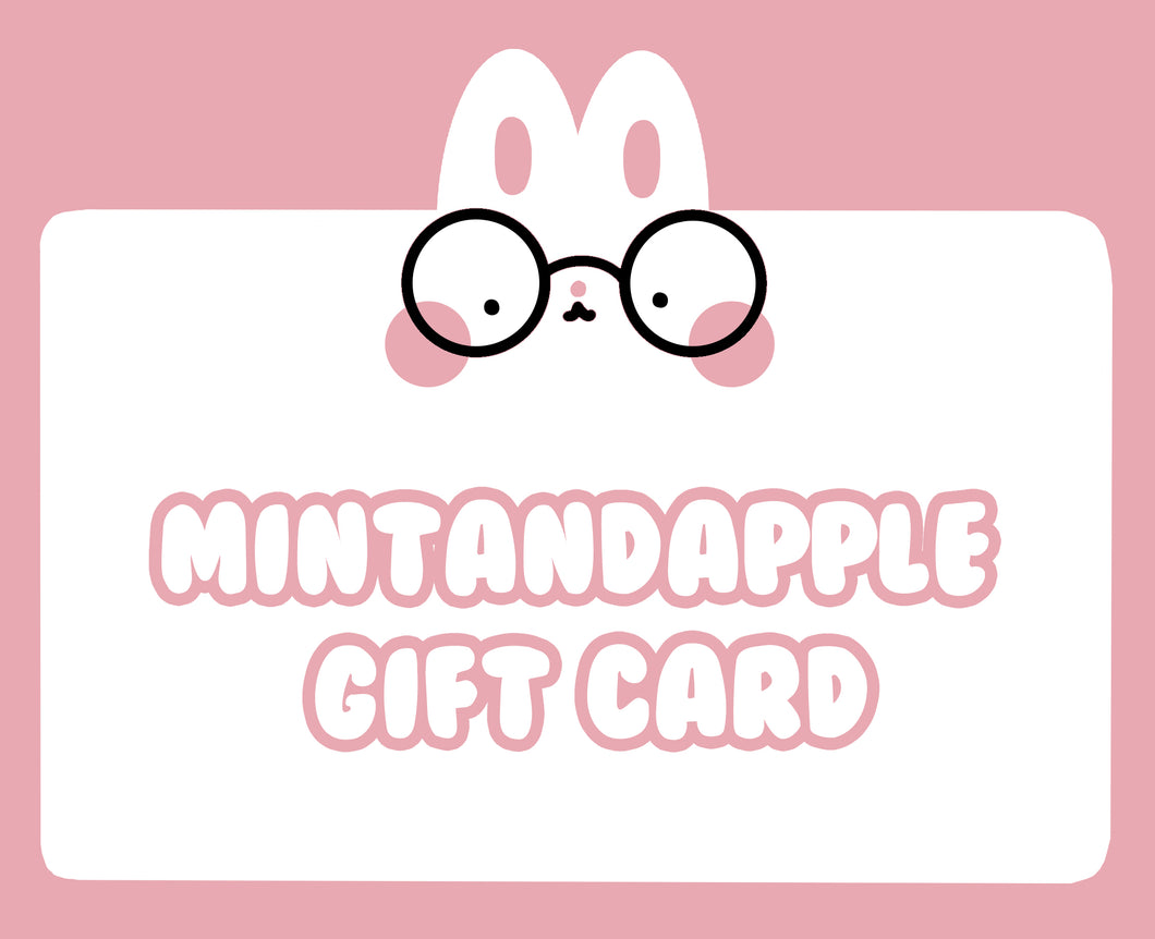 Mintandapple Gift Card