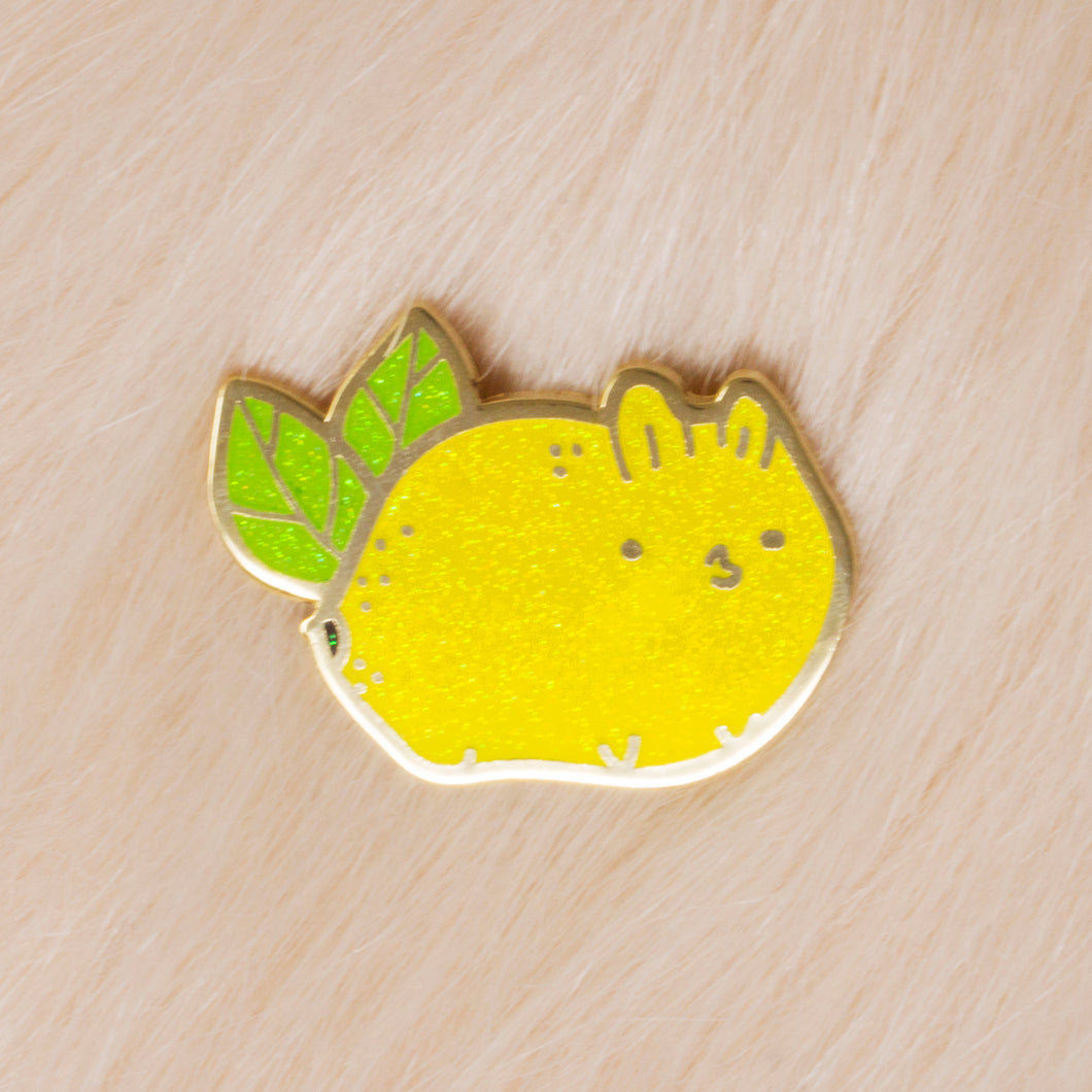 Lemon Bun Lapel Pin