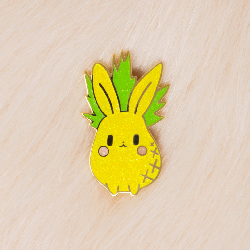 Pineapple Bun Lapel Pin