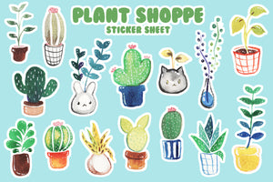 Plant Shoppe Sticker Sheet