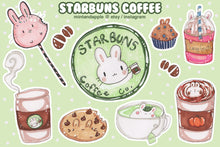 Load image into Gallery viewer, Starbuns Stickers