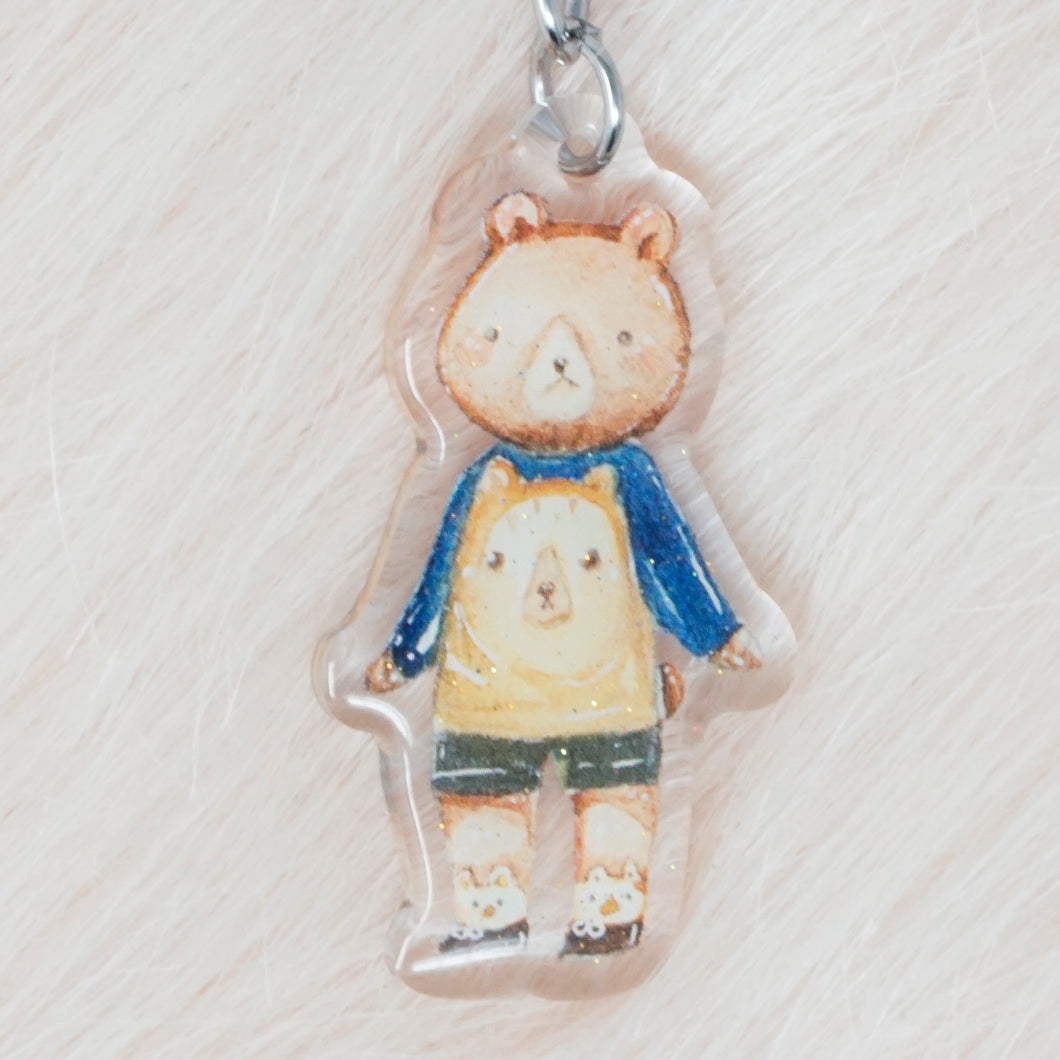 Fashion Bear Charm