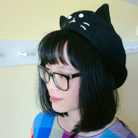 PRE-ORDER Kitty Beret