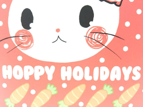 Hoppy Holidays Greeting Card