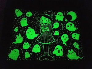 Grid Witch Glow In The Dark Tote