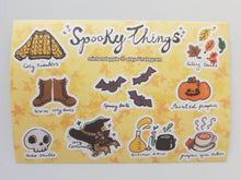 Load image into Gallery viewer, Spooky Things Stickers