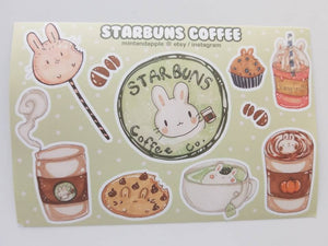 Starbuns Stickers