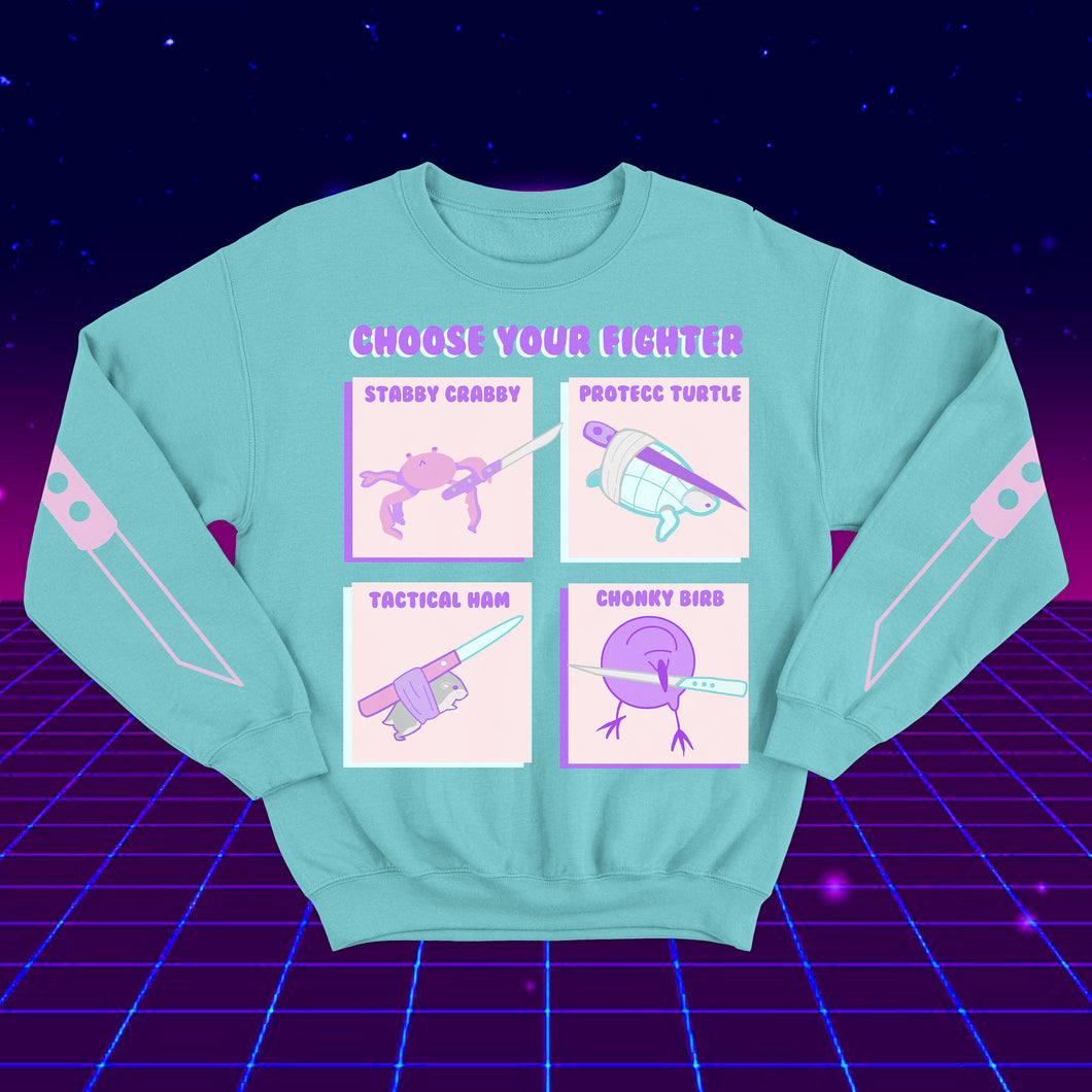 Choose Your Fighter Sweater