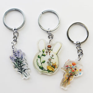 Dried Flowers Charm