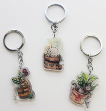 Load image into Gallery viewer, Castle In The Sky Robot Planter Charm