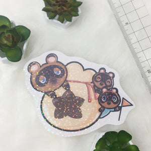 Sparkle Tom nook sticker