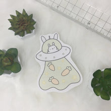Load image into Gallery viewer, UFO bunny sticker