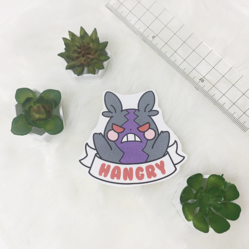 Hangry morpeko sticker